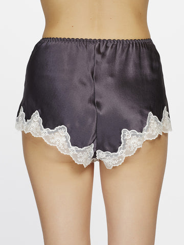 GINIA Silk lace shorts - The Lingerie Boutique