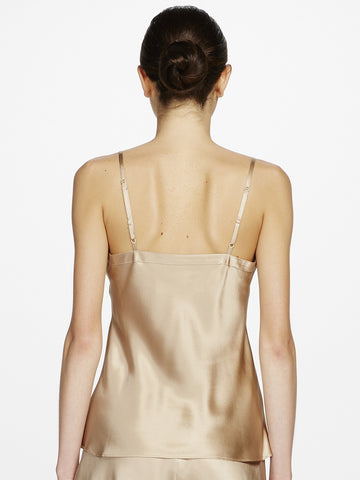GINIA Silk v neck camisole - The Lingerie Boutique