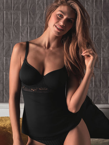 CONTURELLE Illusion padded camisole - The Lingerie Boutique