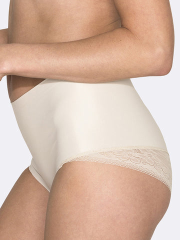 HUSH HUSH Essensual lace control brief - The Lingerie Boutique