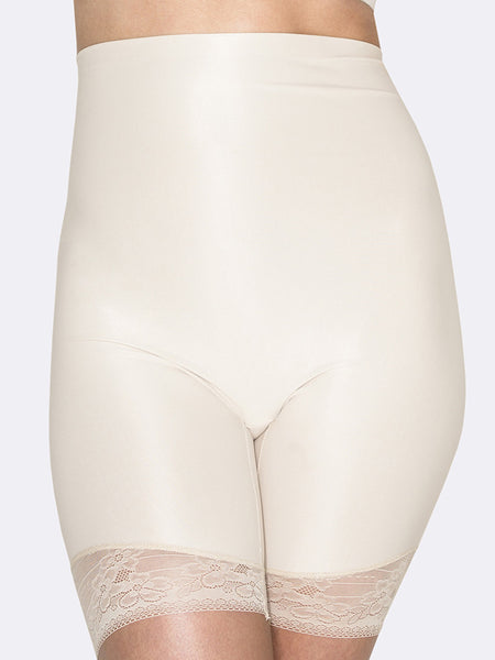 HUSH HUSH Essensual smooth lace thigh shaper - The Lingerie Boutique
