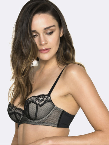 HUSH HUSH Whisper padded balconette bra - The Lingerie Boutique