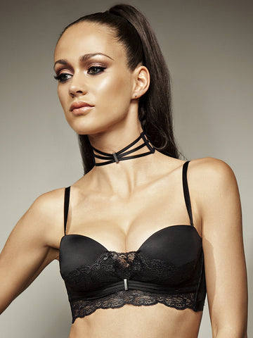 LISCA Lisca Onyx strapless bra black - The Lingerie Boutique