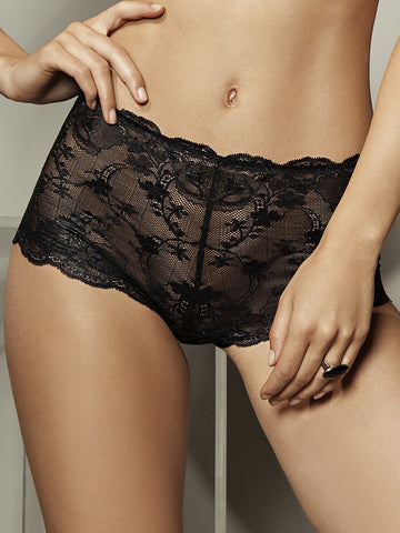 LISCA Lisca Onyx shorty black - The Lingerie Boutique