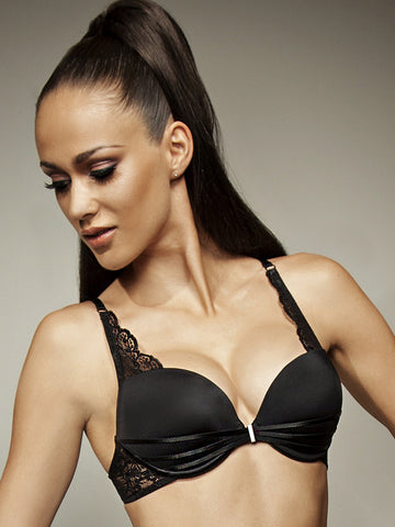 LISCA Lisca Onyx push up bra black - The Lingerie Boutique