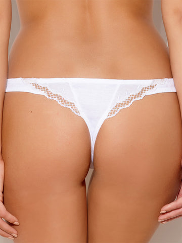 Millesia Caresse g-string white - LingerieBoutique - 2
