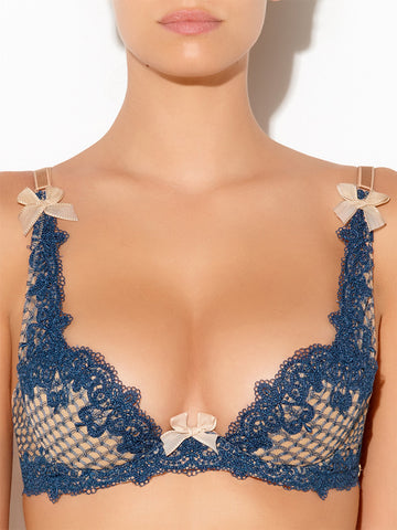 LingerieBoutique Impertinente Plunge padded bra - The Lingerie Boutique