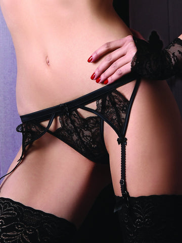 JOLIDON CLANDESTINE Private Game suspender belt - The LingerieBoutique - 1
