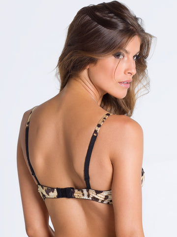 ROBERTO CAVALLI Leopard full cup bra - The Lingerie Boutique