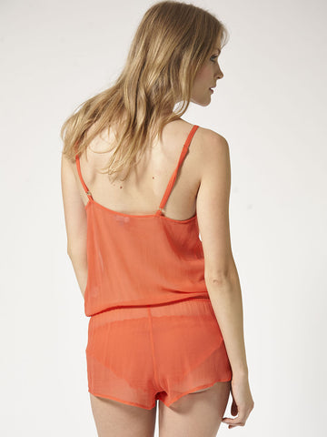 BEAUTIFUL BOTTOMS Silk playsuit - The Lingerie Boutique
