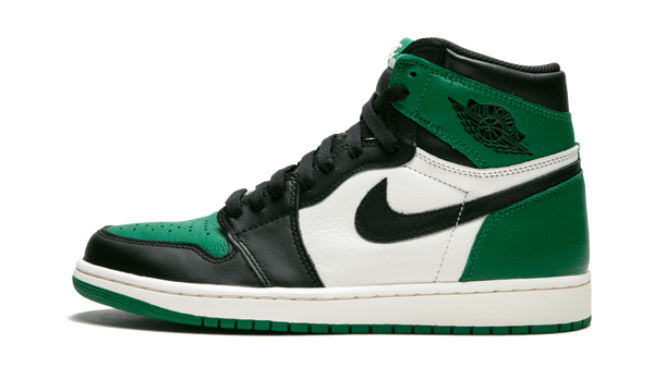 "Air Jordan Retro 1 High OG ""Pine Green"" - zero's zeros world sneakers store stores shop los angeles melrose fairfax LA l.a. legit authentic cool kicks undefeated round two flight club supreme where to buy sell yeezy yezzy yeezys vlone off white hype sneaker shoes streetwear sneakerhead consignment trade resale best dopest shopping"