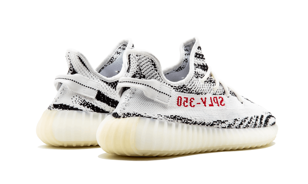 adidas Yeezy Boost 350 V2 Zebra CP9654 sz 7 white/black/red DS
