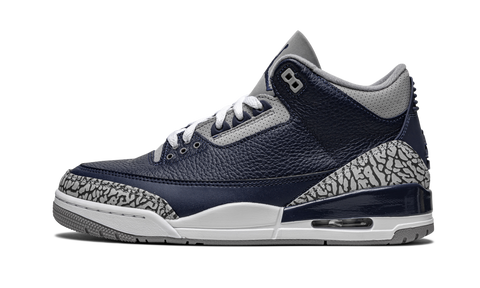 "Air Jordan 3 Retro ""Georgetown"" - Zero's"