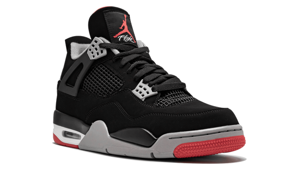 "Air Jordan 4 Retro ""Bred"" 2019 - zero's zeros world sneakers hype streetwear street wear store stores shop los angeles melrose fairfax hollywood santa monica LA l.a. legit authentic cool kicks undefeated round two flight club solestage supreme where to buy sell trade consign yeezy yezzy yeezys vlone virgil abloh bape assc off white hype sneaker shoes streetwear sneakerhead consignment trade resale best dopest shopping"
