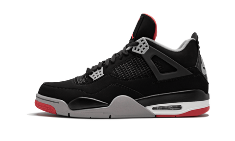"Air Jordan 4 Retro ""Bred"" 2019 - zero's zeros world sneakers store stores shop los angeles melrose fairfax LA l.a. legit authentic cool kicks undefeated round two flight club supreme where to buy sell yeezy yezzy yeezys vlone off white hype sneaker shoes streetwear sneakerhead consignment trade resale best dopest shopping"