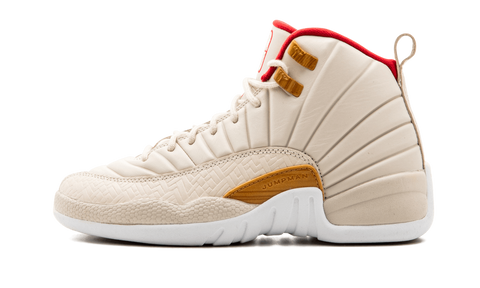 "Air Jordan 12  Retro ""CNY"" GS - zero's zeros world sneakers store stores shop los angeles melrose fairfax LA l.a. legit authentic cool kicks undefeated round two flight club supreme where to buy sell yeezy yezzy yeezys vlone off white hype sneaker shoes streetwear sneakerhead consignment trade resale best dopest shopping"