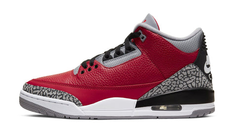 "Air Jordan 3 Retro U Fire Red Cement ""Chi"""