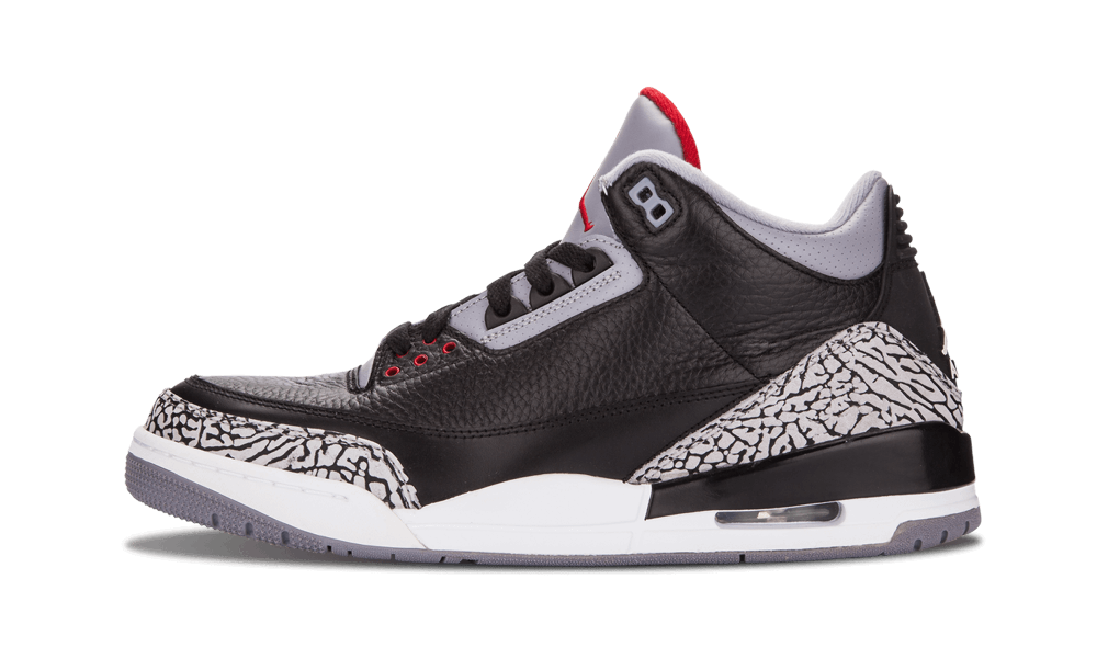 air jordan 3 black cement 2018