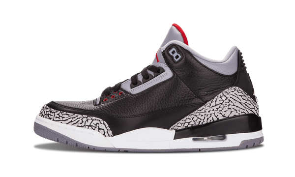 "Air Jordan 3 Retro OG ""Black Cement"" 2018 - zero's zeros world sneakers hypebeast streetwear street wear store stores shop los angeles melrose fairfax hollywood santa monica LA l.a. legit authentic cool kicks undefeated round two flight club solestage supreme where to buy sell trade consign yeezy yezzy yeezys vlone virgil abloh bape assc off white hype sneaker shoes streetwear sneakerhead consignment trade resale best dopest shopping"
