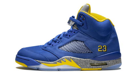 "Air Jordan 5 Retro ""Laney JSP"" - zero's zeros world sneakers store stores shop los angeles melrose fairfax LA l.a. legit authentic cool kicks undefeated round two flight club supreme where to buy sell yeezy yezzy yeezys vlone off white hype sneaker shoes streetwear sneakerhead consignment trade resale best dopest shopping"