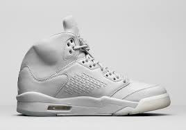 "Air Jordan 5 Retro PRM ""Pure Platinum"" - zero's world sneakers store los angeles melrose round two flight club supreme where to buy sell yeezy yezzy"