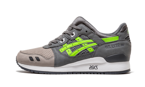 "Ronnie Fieg x Asics Gel Lyte 3 ""Super Green"" - zero's world sneakers store los angeles melrose round two flight club supreme"