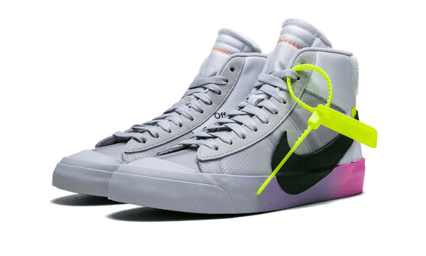 "Nike x Off White Blazer Mid Wolf Grey Serena ""Queen"""