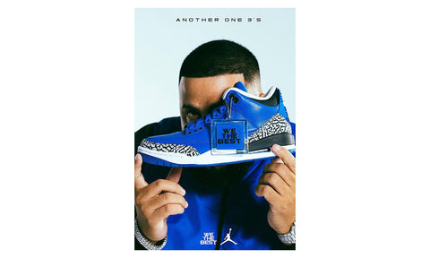 "Air Jordan 3 x DJ Khaled ""We The Best"" / ""Another One"" - zero's world sneakers store los angeles melrose round two flight club supreme where to buy sell yeezy yeezy LA L.A."