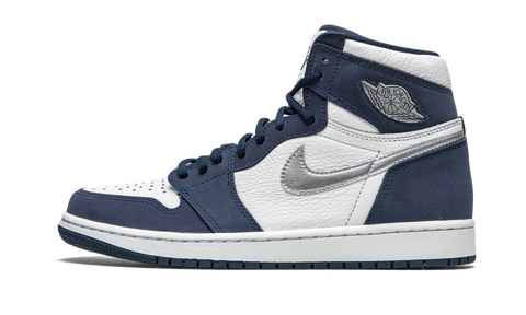 "Air Jordan 1 High Co Japan ""Midnight Navy"""