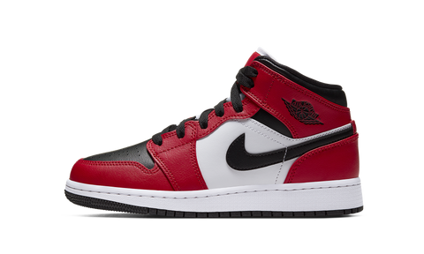 "Jordan Air Jordan 1 Mid ""Chicago Black Toe"" GS"