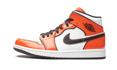 "Air Jordan 1 Mid SE  ""Turf Orange"" - Zero's"
