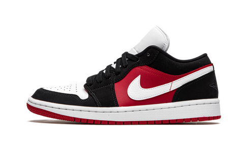 "Air Jordan 1 Low ""Black White Gym Red"" W - Zero's"