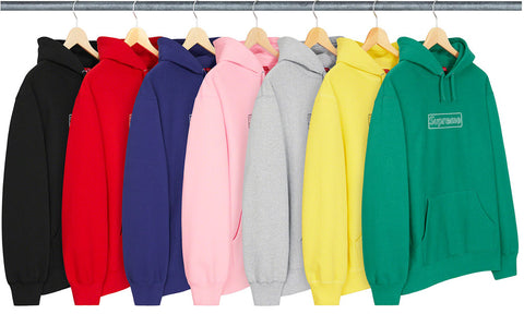 Supreme Kaws Chalk Hooded Sweatshirt - Zero's