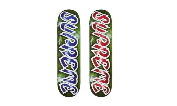 Supreme Lee Logo Skateboard Deck - zero's world sneakers store los angeles melrose round two flight club supreme