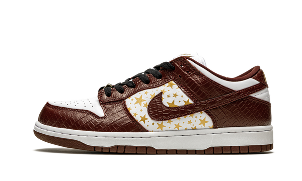"Nike x Supreme SB Dunk Low OG QS ""Barkroot Brown"" - Zero's"
