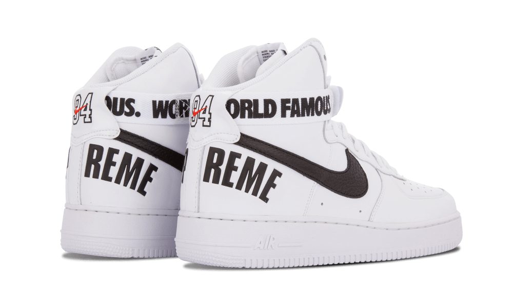 ... Supreme x Nike Air Force 1 High Supreme SP ...