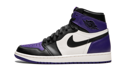 "Air Jordan 1 Retro High OG ""Court Purple"" - zero's zeros world sneakers store stores shop los angeles melrose fairfax LA l.a. legit authentic cool kicks undefeated round two flight club supreme where to buy sell yeezy yezzy yeezys vlone off white hype sneaker shoes streetwear sneakerhead consignment trade resale best dopest shopping"
