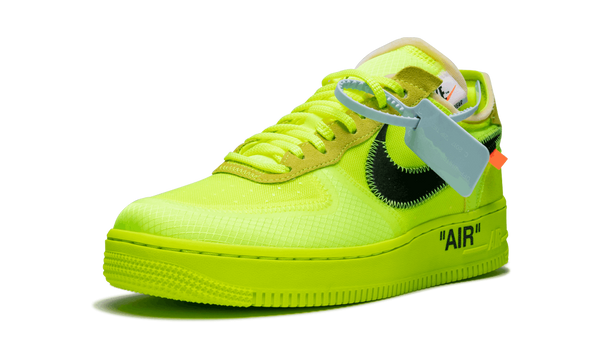 "Nike x Off White Air Force 1 Low ""Volt"""