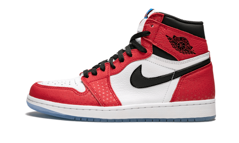 "Air Jordan 1 Retro HIGH OG ""Spider Man Origin Story"" - zero's world sneakers store los angeles melrose round two flight club supreme where to buy sell yeezy yeezy LA L.A."
