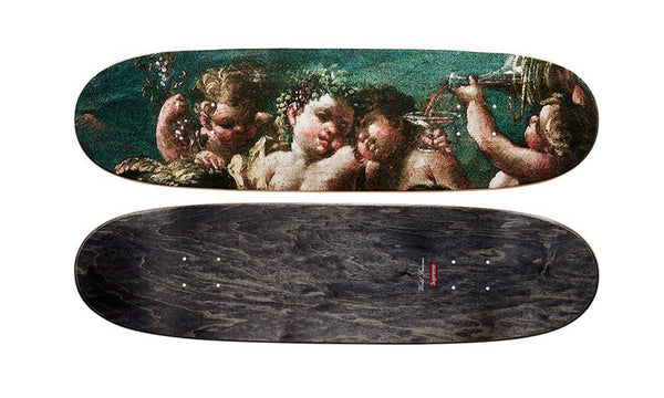 Supreme Bacchanal Skateboard Deck - zero's world sneakers store los angeles melrose round two flight club supreme