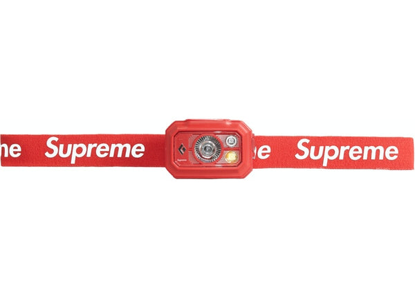 Supreme Black Diamond Storm 400 Headlamp - zero's zeros world sneakers hypebeast streetwear street wear store stores shop los angeles melrose fairfax hollywood santa monica LA l.a. legit authentic cool kicks undefeated round two flight club solestage supreme where to buy sell trade consign yeezy yezzy yeezys vlone virgil abloh bape assc chrome hearts off white hype sneaker shoes streetwear sneakerhead consignment trade resale best dopest shopping