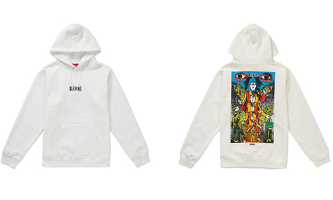 Supreme Gilbert & George Life Hooded Sweatshirt