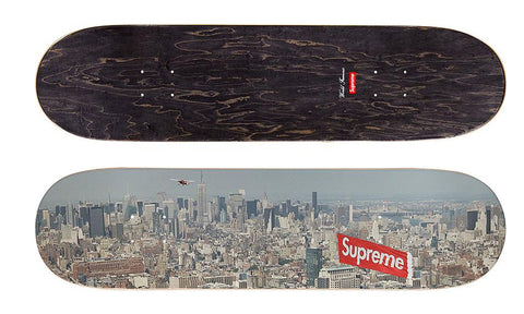 Supreme Aerial Skateboard Deck - zero's zeros world sneakers hypebeast streetwear street wear store stores shop los angeles melrose fairfax hollywood santa monica LA l.a. legit authentic cool kicks undefeated round two flight club solestage supreme where to buy sell trade consign yeezy yezzy yeezys vlone virgil abloh bape assc off white hype sneaker shoes streetwear sneakerhead consignment trade resale best dopest shopping