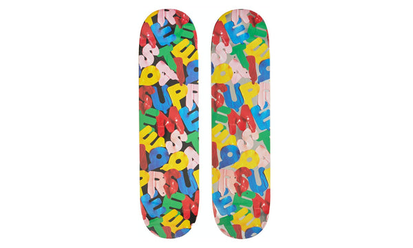 Supreme Balloons Skateboard Deck - zero's zeros world sneakers hypebeast streetwear street wear store stores shop los angeles melrose fairfax hollywood santa monica LA l.a. legit authentic cool kicks undefeated round two flight club solestage supreme where to buy sell trade consign yeezy yezzy yeezys vlone virgil abloh bape assc chrome hearts off white hype sneaker shoes streetwear sneakerhead consignment trade resale best dopest shopping
