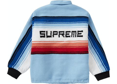 Supreme Tlaxcala Blanket Jacket - zero's zeros world sneakers hypebeast streetwear street wear store stores shop los angeles melrose fairfax hollywood santa monica LA l.a. legit authentic cool kicks undefeated round two flight club solestage supreme where to buy sell trade consign yeezy yezzy yeezys vlone virgil abloh bape assc off white hype sneaker shoes streetwear sneakerhead consignment trade resale best dopest shopping