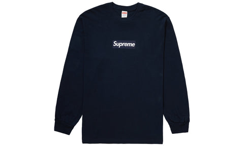 Supreme Box Logo F/W 20 Navy - zero's zeros world sneakers hypebeast streetwear street wear store stores shop los angeles melrose fairfax hollywood santa monica LA l.a. legit authentic cool kicks undefeated round two flight club solestage supreme where to buy sell trade consign yeezy yezzy yeezys vlone virgil abloh bape assc off white hype sneaker shoes streetwear sneakerhead consignment trade resale best dopest shopping
