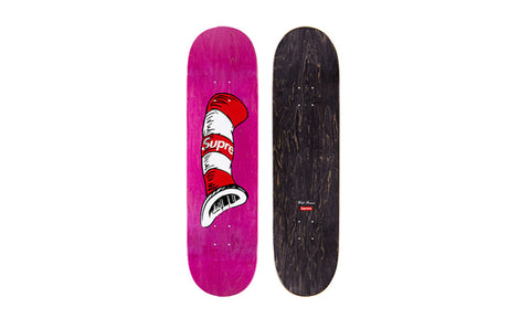 Supreme Cat in the Hat Skateboard Deck