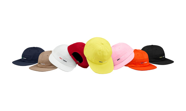 Supreme Embossed Logo 6-Panel