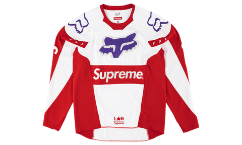 Supreme x  Fox Racing Moto Jersey Top