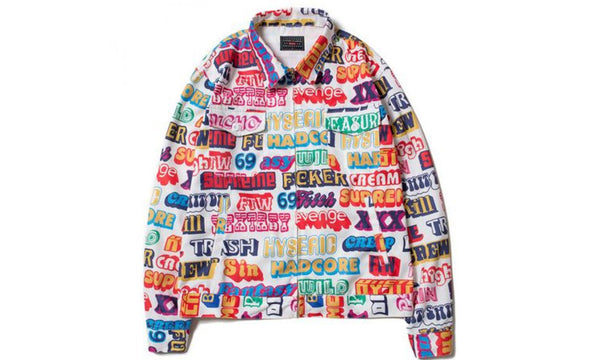 Supreme HYSTERIC GLAMOUR Text Work Jacket